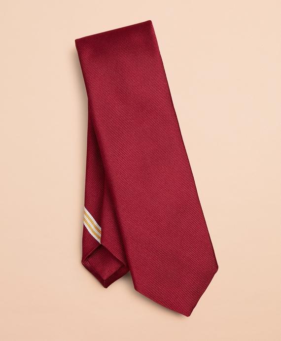 Crest Silk Tie Wine