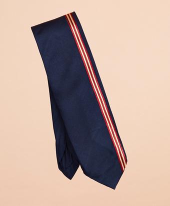 BB#1 Vertical Stripe Silk Tie