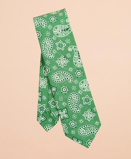 Paisley Cotton Tie