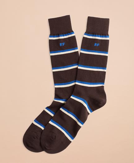 Double Stripe Crew Socks