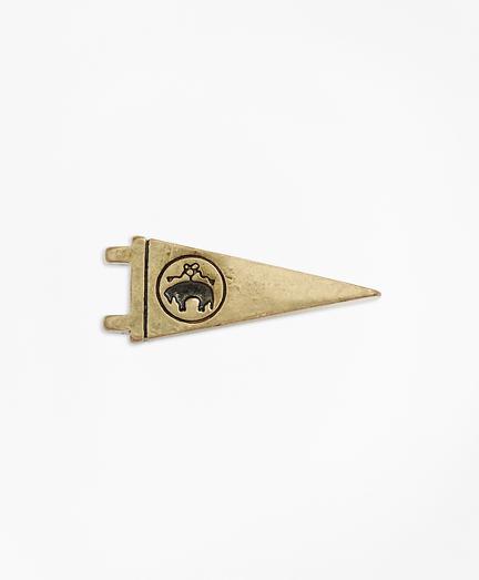Logo Pennant Lapel Pin