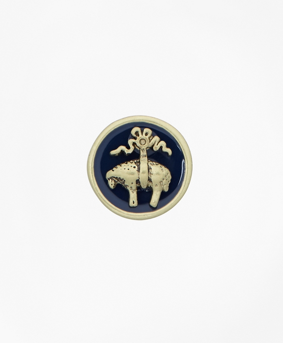 Enamel Lapel Pin Gold