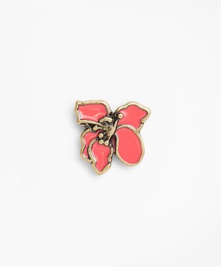 Hibiscus Lapel Pin