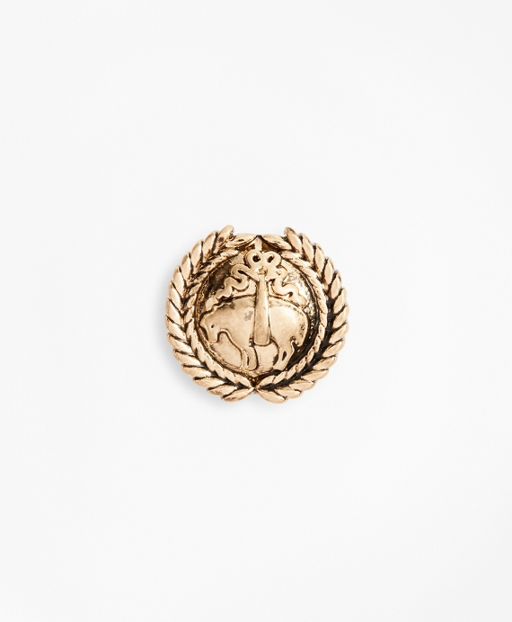 Gold-Tone Laurel Crest Lapel Pin Gold