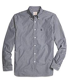 Navy Stripe Sport Shirt