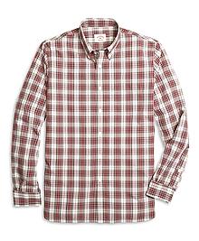 Red Plaid Sport Shirt