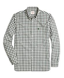 Green Check Sport Shirt