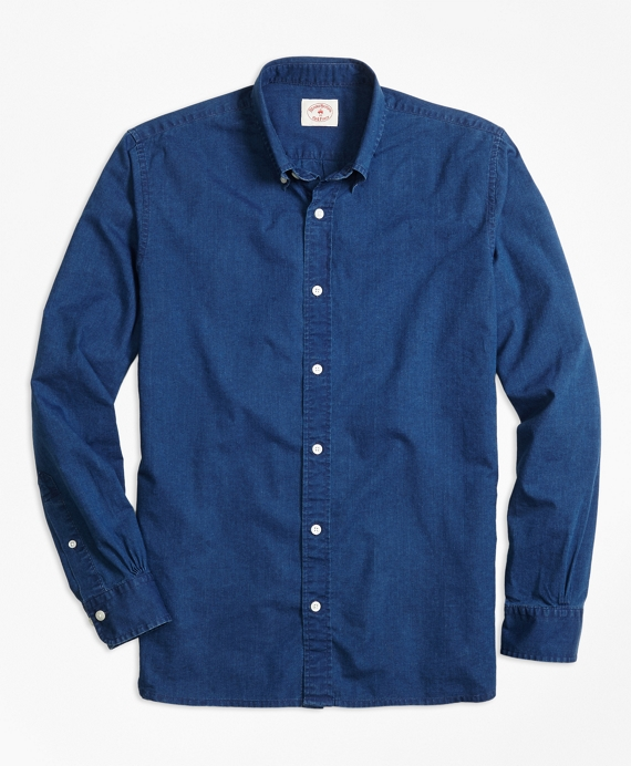 Dark Chambray Sport Shirt Dark Chambray