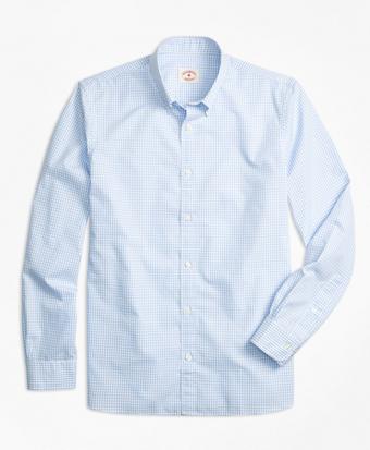 Nine-to-Nine Windowpane Plaid Shirt