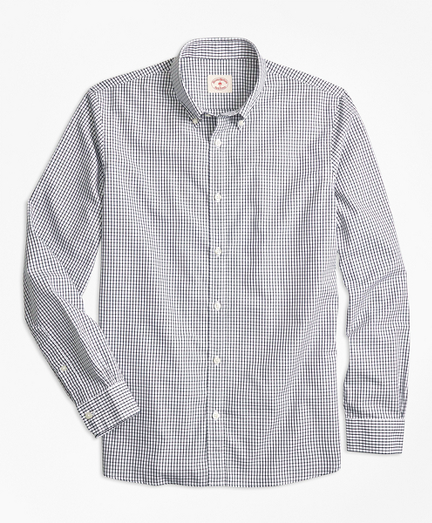 Nine-to-Nine Windowpane Plaid Shirt