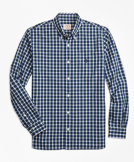Check Broadcloth Sport Shirt