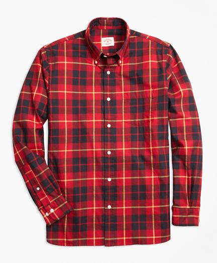 Tartan Cotton Flannel Sport Shirt