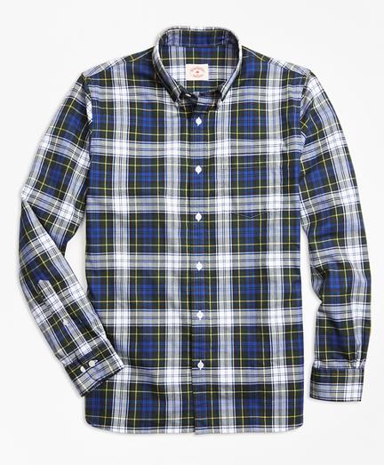 Gordon Dress Tartan Cotton Flannel Sport Shirt