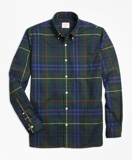 Stewart Hunting Tartan Cotton Flannel Sport Shirt