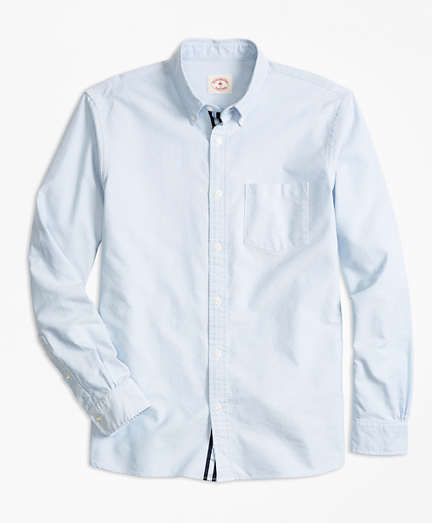 Supima® Cotton Oxford Polo Button-Down Shirt