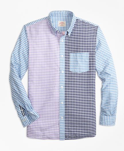 Gingham Cotton Oxford Fun Shirt