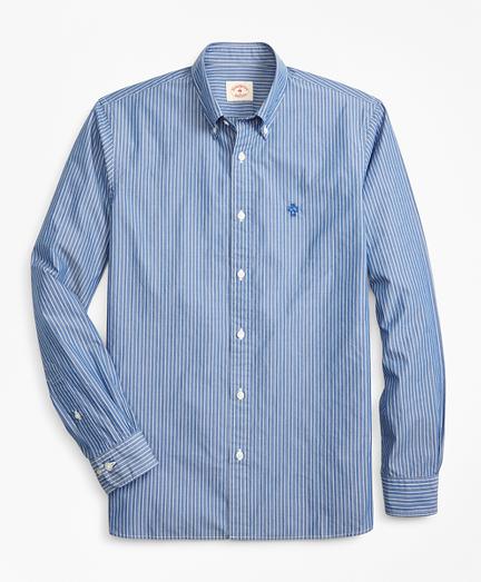 Striped Broadcloth Sport Shirt
