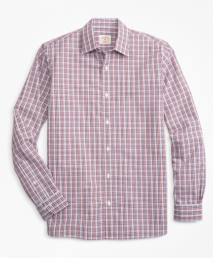 Gingham Nine-to-Nine Cotton Poplin Shirt