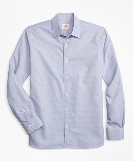 Striped Nine-to-Nine Cotton Dobby Shirt