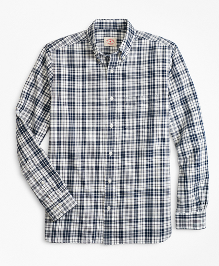 Tartan Cotton Flannel Sport Shirt