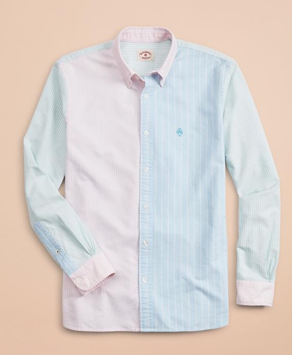 1089ba4ffe Cotton Oxford Striped Fun Sport Shirt - Brooks Brothers