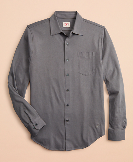Lightweight Cotton Jersey Shirt