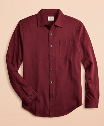 Lightweight Cotton Jersey Shirt