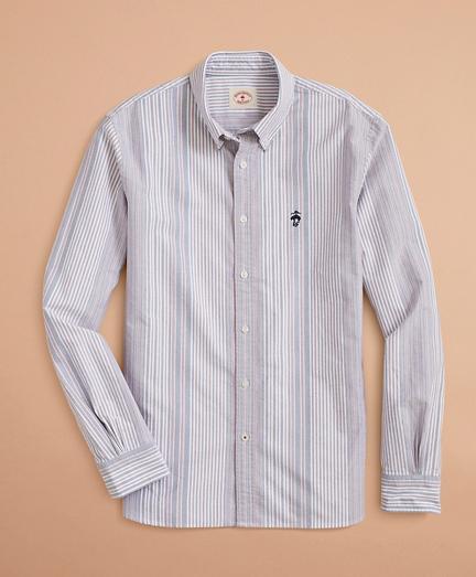 Multi-Stripe Oxford Shirt