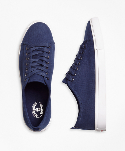 Brooksbrothers Canvas Sneakers
