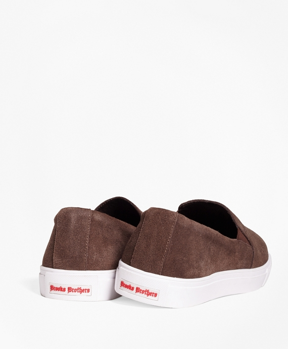 b3be66a6c1c1e Suede Slip-On Sneakers - Brooks Brothers