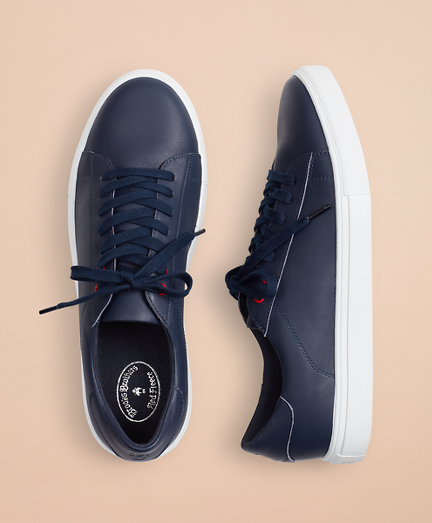 Brooksbrothers Leather Sneakers