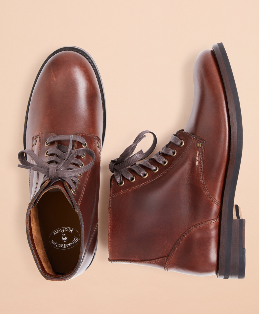 Brooks Brothers Men's Leather Boots