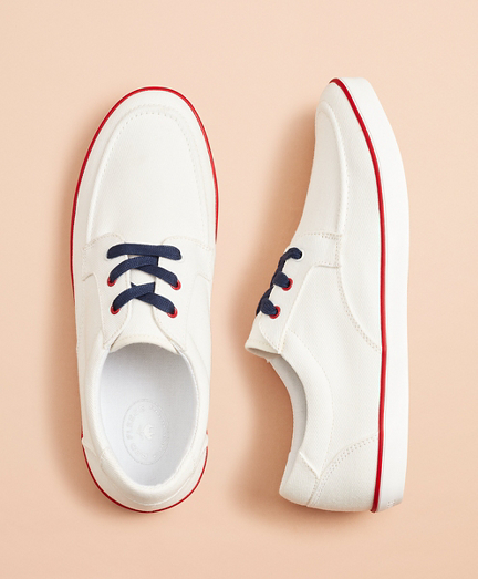 Canvas Boat Sneakers