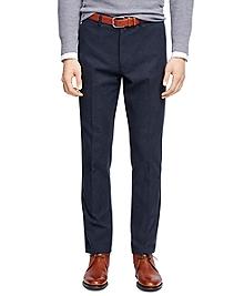 Plain-Front Dress Trousers