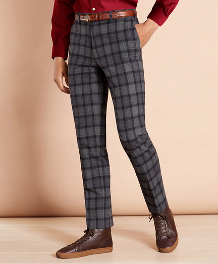 Cotton Tartan Trousers