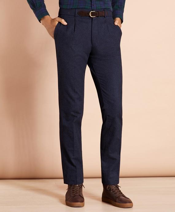 Cotton Trousers Blue
