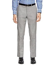 Plaid Suit Trousers