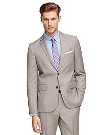 Tan Tic Suit Jacket