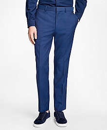 Slim-Fit Stretch-Wool Suit Trousers