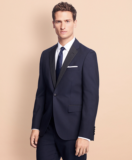 Slim-Fit Stretch-Wool Tuxedo