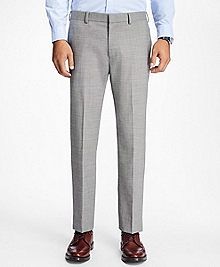 Slim-Fit Sharkskin Stretch-Wool Suit Trousers