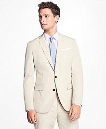 Two-Button Cotton Suit Jacket