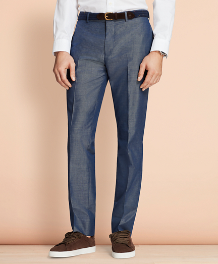 Cotton-Mohair Suit Trousers