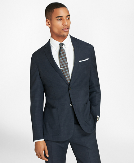 BrooksCloud™ Two-Button Wool Suit Jacket