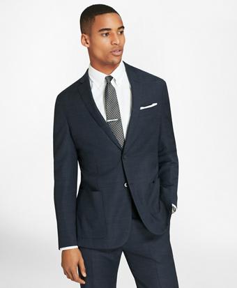 BrooksCloud™ Two-Button Wool Suit Jacket