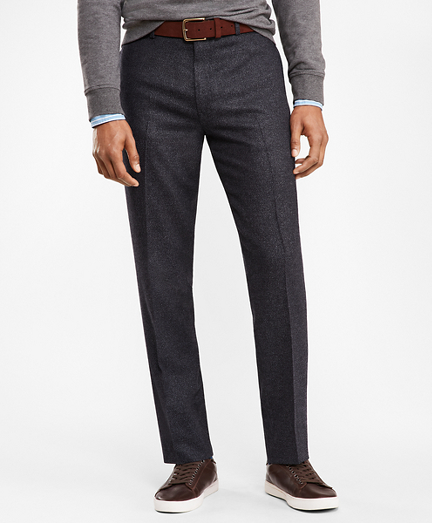 Tic Twill Suit Trousers