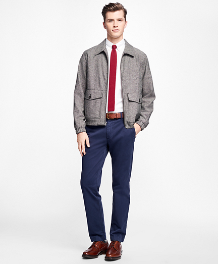 Donegal Tweed Short Jacket