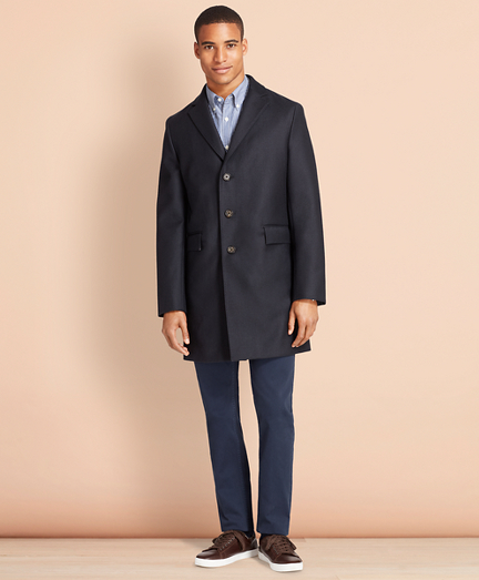 Double-Faced Wool Topcoat