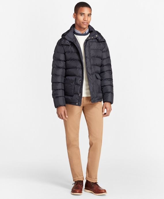 Down Puffer Jacket Navy