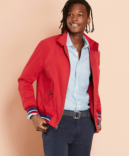 Water-Resistant Harrington Jacket